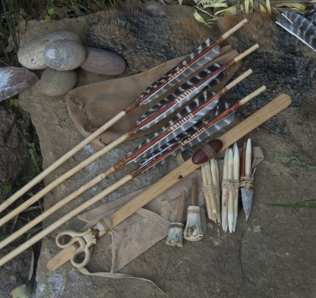 broken roof cave atlatl set